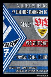 U15: SV Waldhof -VfB Stuttgart