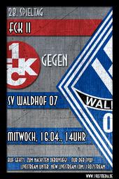FCK II - SV Waldhof