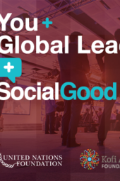 You + Global Leaders +SocialGood