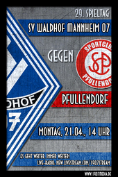 SV Waldhof - SC Pfullendorf