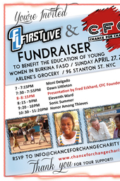 FirstLive and CFC Fundraiser