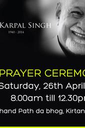 Prayer - Karpal Singh