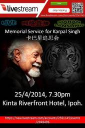 Memorial Service for Karpal Singh 卡巴星追思会
