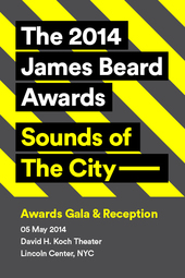 The 2014 James Beard Awards