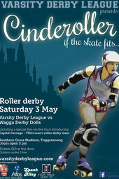 Cinderoller – VDL vs Wagga Derby Dolls