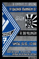 U17: SV Waldhof - FC 08 Villingen