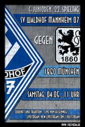 U15: SV Waldhof - 1860 München