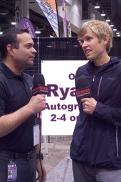 Ryan Hall after the Toyota 10K at Flying Pig