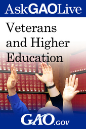 Web Chat on Veterans and Higher Education