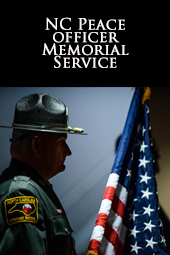 NC Peace Officer Memorial Service