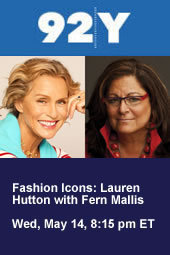 Fashion Icons: Lauren Hutton with Fern Mallis