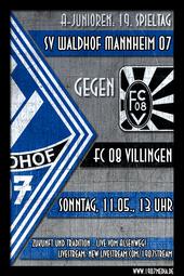U19: SV Waldhof - FC 08 Villingen