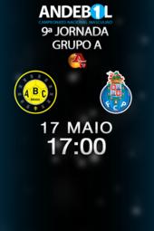 ABC UMINHO - FC PORTO VITALIS (9ª JORNADA - FASE FINAL)