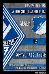U15: SV Waldhof - TSG