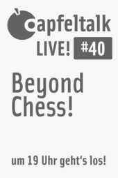 Apfeltalk LIVE! #40 Beyond Chess - Games am Mac