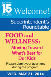 May 21 Superintendent's Roundtable