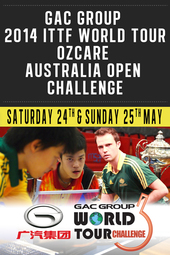 GAC Group 2014 ITTF World Tour OzCare Australia Open Challenge