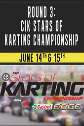 Round 3 : CIK Stars of Karting Championship