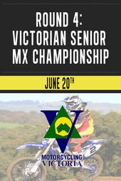 Round 4: Victorian Senior MX Championship