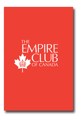 May 23/14 Empire Club - Dr. Clarence Epstein