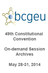 BCGEU 49th Constitutional Convention