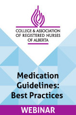 CARNA Webinar: Medication Guidelines: Best Practices