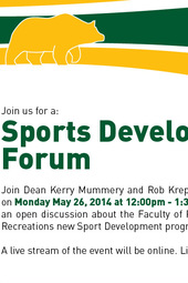 Sports Development Forum