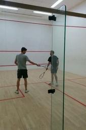It's on: EMEA squash sessions