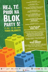 Blok Party 5 - okrogla miza