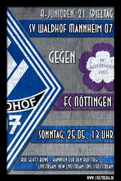 U19: SV Waldhof - FC Nöttingen