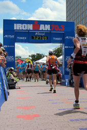 Raleigh 70.3 - Finish Line