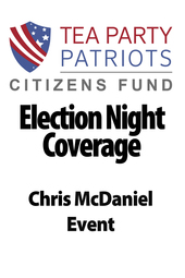 Election Night Coverage - Tea Party Patriots Citizens Fund