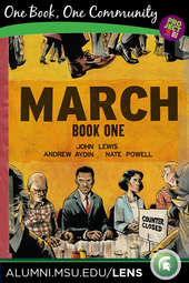 March: Book One  |   A One Book, One Community Event