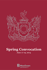 MacEwan University Spring Convocation 2014