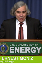 US DOE Secretary of Energy Ernest Moniz