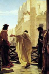 Herodes e Pilatos ficaram amigos!