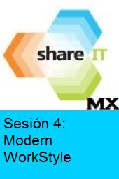 ShareIT.MX:Entorno Moderno de Trabajo