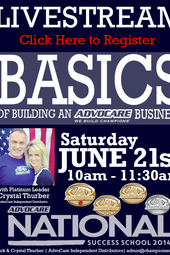 Basics of Building an AdvoCare Business