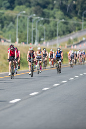 Mont Tremblant 70.3 Finish Line