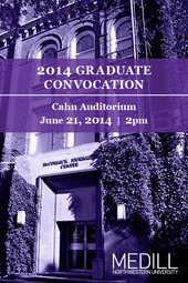 2014 Graduate Convocation - 2PM CST