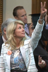 Wendy Davis Filibuster Anniversary Rally