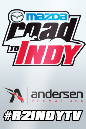 Mazda Road to Indy Announcement