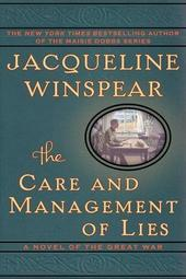 Jacqueline Winspear discusses The Care and Management of Lies