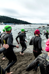Swim Start - IRONMAN Coeur d'Alene