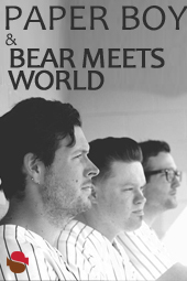 Paperboy & Bear Meets World live at Streaming Cafe