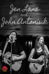 Jen Lane and John Antoniuk live at Streaming Cafe