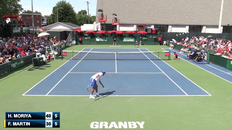 Granby 2014 - Centre Court on Livestream