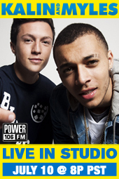 Kalin and Myles Live In-Studio w/ J. Cruz & Justin Credible