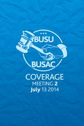 BUSAC Meeting #2: July 13 2014