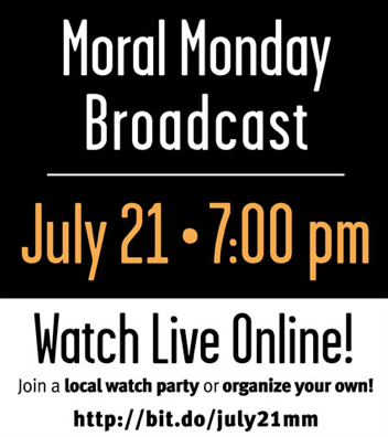 July 21st Moral Monday Broadcast by Eric Preston (Fusion Films)